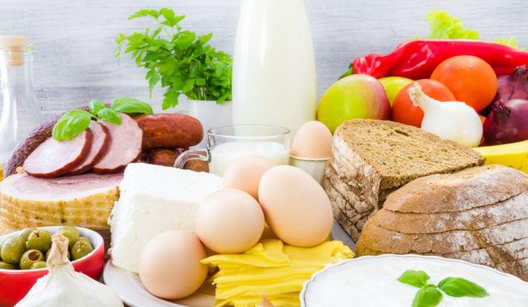 Overzicht van gezonde voeding