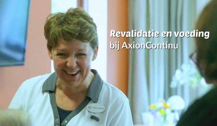 Axion Continu: de rol van voeding bij revalidatie