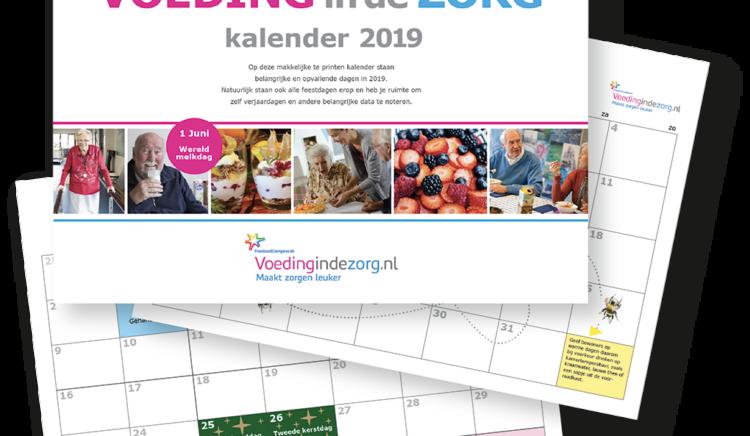 Dowload nu de Voedingindezorg jaarkalender 2