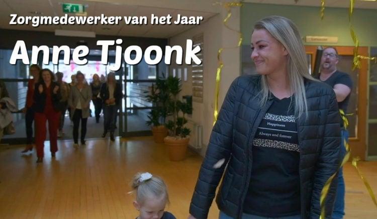 Zorgmedewerker van het jaar 2019: Anne Tjoonk