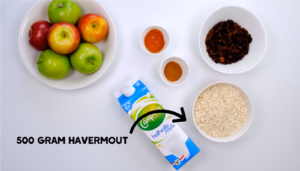 Receptvideo: overnight oats